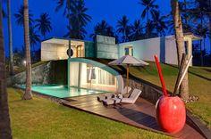 david lombardi: villa sapi in indonesia: pool