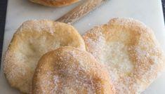 Easy No Knead Homemade Italian Ciabatta Bread - An Italian in my Kitchen No Yeast Pizza Dough, No Yeast Bread, Beer Bread, Tasty Bread Recipe, Quick Bread Recipes, Crusty French Baguette Recipe, Bannock Bread, Flatbread Sandwiches, Italian Bread Recipes