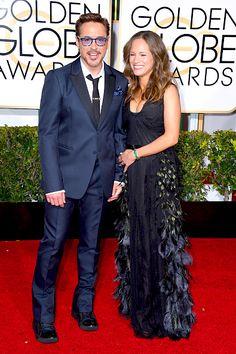 """"""" Robert Downey Jr. and Susan Downey, January 11, 2015. """""""