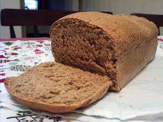 Pão de Centeio Caseiro