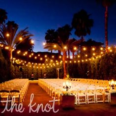 Romantic Outdoor Ceremony If I Were To Have An Wedding This Would Be Perfect