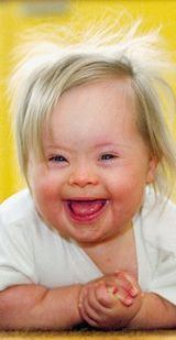 so precious, and what a beautiful smile. She is a special gift from God. My daughter has Down Syndrome and just turned :-)