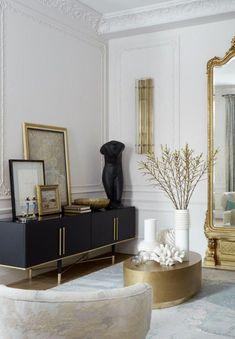 Fancy Living Rooms, Home Decor Inspiration, Interior, Small Living Room, House Interior, Apartment Decor, Gold Home Decor, Home Interior Design, Luxury Home Decor