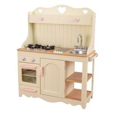 KidKraft Prairie Kitchen by KidKraft. $129.95. From the Manufacturer                Any young, imaginative child is sure to love playing with our adorable Prairie Kitchen. With its heart-shaped artwork and gold details, this might be our most elegant kitchen design to date.                                    Product Description                Any young, imaginative child is sure to love playing with this adorable Prairie Kitchen. With its heart-shaped artwork and g...