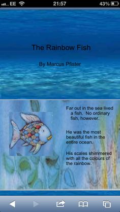 Power point of The Rainbow Fish Story.