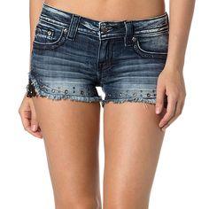 Miss Me Women's Lace Cut-Off Shorts