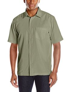 Quiksilver Waterman Men's Centinela 4 Button Down Shirt, ...