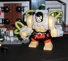 Custom Bane Big Fig Lego Dc, Lego Batman, Superhero, Big Fig, Lego Custom Minifigures, Santa List, Lego Figures, Custom Lego, Disney Marvel
