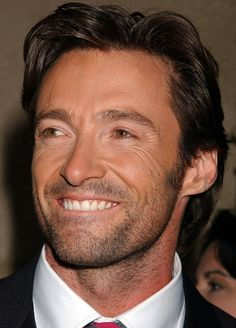 Hugh Jackman   What a beautiful smile !