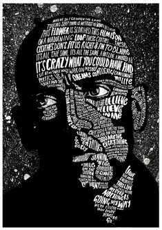 The award winning illustrator and lettering lover Peter Strain from Belfast creates beautiful artworks inspired by film and music. Influenced also by social, political and cultural issues he combines his handcrafted style with typography. Pen and chalk are his favourite work materials. We came to this image by seeing his work with Bill Murray and …
