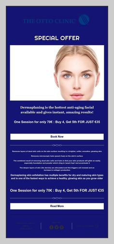 Dermaplaning is the hottest anti-aging facial available and gives instant, amazing results! Anti Aging Facial, Facials, Glowing Skin, How To Remove, Facial