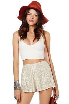 Nasty Gal Pretty Please Shorts | Shop Bottoms at Nasty Gal