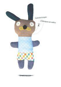 Image of Corentin le lapin / kit doudou