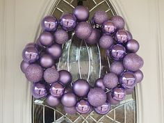 Ornament Wreath DIY