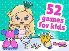 The app will help our little ones to develop creative and logical thinking, imagination and creativity, fine motor and problem-solving skills. Educational Apps For Toddlers, Problem Solving Skills, Fine Motor, Games For Kids, Little Ones, Imagination, Creativity, Games For Children, Fantasy