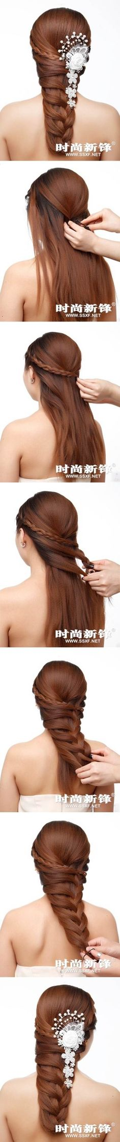 How To Make A Asymmetrical Braid Hairstyle Pictures, Photos, and Images for Facebook, Tumblr, Pinterest, and Twitter