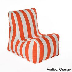 246021f229 Outdoor  Relax  Beanbag Chair (Relax Bean Bag Chair in Vertical Orange)