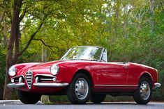 Alfa Romeo Giulietta Convertible old version