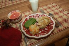 """How's this for """"comfort"""" food? Chicken is dipped in OJ, then in Almond Flour & Mrs. Dash, baked in the toaster oven 15 minutes, then broiled for 10 minutes. Toaster Oven Cooking, Almond Crusted Chicken, Meal Planner, Almond Flour, Sweet Potato, Potatoes, Healthy Recipes, Meals, Baking"""