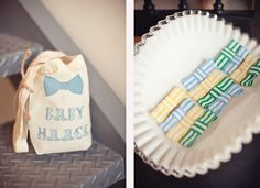 bow tie baby shower