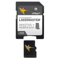 HumminbIrd Lakemaster Chart - Dakotas-Nebraska - MicroSD-SD