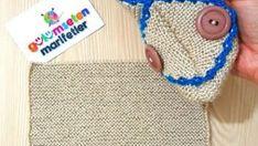 1 Saatte Gelin Yeleği Modeli Yapılışı   Hatunzade.Com Crochet Hats, Crafts, Creativity, Amigurumi, Manualidades, Bag, Masks, Knitting Hats, Handmade Crafts
