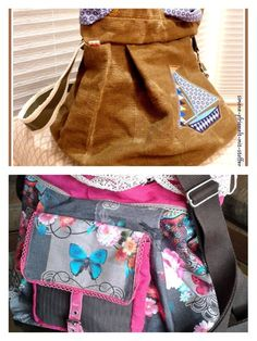 BeWe Beutel von Schnittherzchen auf DaWanda.com Backpacks, Etsy, Bags, Fashion, Sachets, Sewing Patterns, Handbags, Moda, Fashion Styles