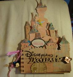 disneyland autograph book?! I want to make this for sammer