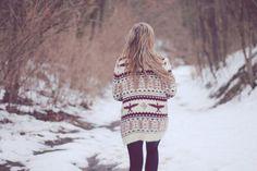 oversized cozy sweaters.