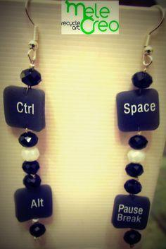 orecchini keyboard