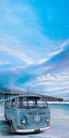 Travel australia van vw bus Ideas for 2019 Volkswagen Transporter, Vw T1, Volkswagen Beetles, Volkswagen Golf, Honda Shadow, Kombi Clipper, Vw California Beach, Vw Minibus, Vw Modelle