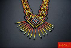 Hand-beaded Embera necklaces.  The finest Colombian craft for a sustainable planet. Available in our Etsy Shop: www.etsy.com/shop/DODAStore DO´DÁ