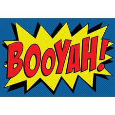 Buy (24x36) Booyah! Comic Pop Art Print Poster in Cheap Price on m.alibaba.com