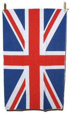 Torchon avec le drapeau Anglais
