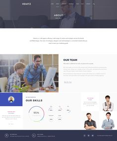 Hemitz - Modern Portfolio PSD Template - PSD Templates | ThemeForest