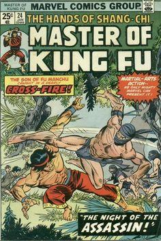 Master of Kung Fu # 24 by Gil Kane & Frank Giacoia