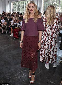 The Olivia Palermo Lookbook : Olivia Palermo At New York Fashion Week II