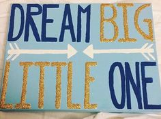 love this saying as a big little canvas More
