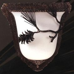 Pine Bell Sconce
