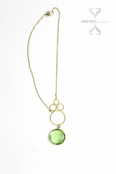 Green necklace by ADMK