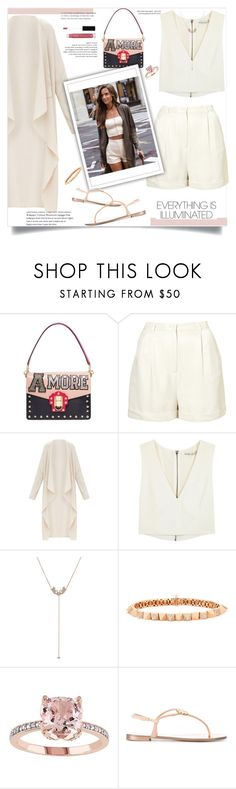 """Sem título #749"" by fashionmodelstyle ❤ liked on Polyvore featuring Dolce&Gabbana, CO, Alice + Olivia, Sara Weinstock, Anita Ko, Giuseppe Zanotti and Anastasia Beverly Hills"