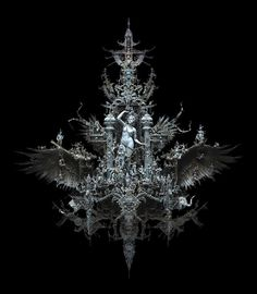 Kris Kuksi's Insanely Detailed Gothic Sculpture