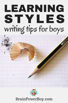 Do you want your boy to write more? Try these writing tips to help him find the best way for him to write by following his learning style. These tips will help you set your boy up for writing success.