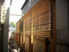 Custom clear cedar screen and fence | Deck Masters, llc - Portland, OR
