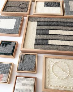 Hand woven weavings/wall hangings from Icelandic and Navajo wool.✨-Take 20 off all weavings today - Sunday ⚡️ Weaving Textiles, Weaving Art, Weaving Patterns, Tapestry Weaving, Stitch Patterns, Knitting Patterns, Weaving Wall Hanging, Hanging Fabric, Tapestry Wall Hanging