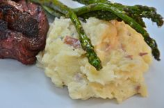 Creamy Gorgonzola Mashed Potatoes. I would use yellow potatoes. They're actually creamier!