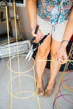 Frugal DIY plant stands. #DIY #crafts #plants #homedecor
