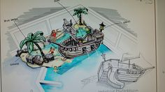 Indoor pool pirateship amsterdamse poort Indoor Pools, Amsterdam, Art, Kunst, Art Education, Artworks