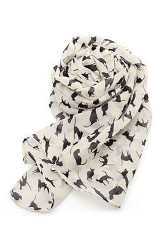 Accessories https://sincerelysweetboutique.com/accessories.html #accessory #accessories #jewelry | beige cat print scarf