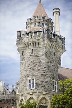 Casa Loma reminds me of the Rapunzel story here